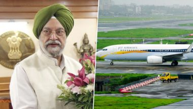 Jet Airways Crisis: Govt of India Has No Role in Raising Funds, Revival Only Possible Under Insolvency & Bankruptcy Code, Says Aviation Minister Hardeep Puri