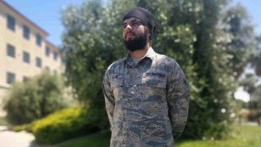 Harpreetinder Singh Bajwa, Sikh-American, Becomes First to Serve in US Air Force With Beard, Turban and Unshorn Hair