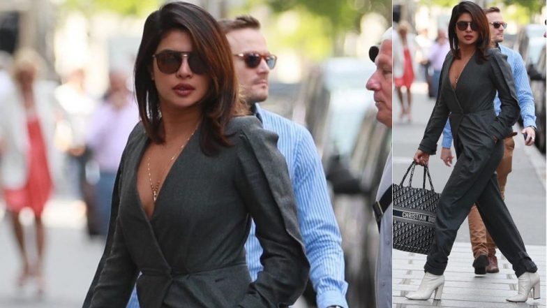 Priyanka Chopra Is Walking Around The Streets of New York In A Dior Book Tote Bag Worth Approximately Rs. 2 Lakh!
