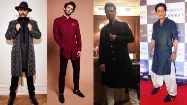 Shah Rukh Khan, Karan Johar, Aditya Roy Kapur Are Here To Teach You How To Look Dapper For Eid 2019 - View Pics