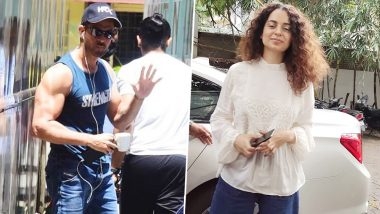 Kangana Ranaut Asks Journalists To 'Move On in Life' When Asked About Hrithik Roshan Avoiding Media - Watch Video