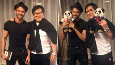 'Kaabil' in China: Hrithik Roshan's Fanboy Moment With Jackie Chan and We Can't Keep Calm About It! View Pics