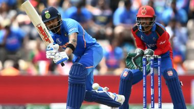 Team India Wears Jersey With Chinese Brand OPPO While Afghanistan Sports Indian Company Amul's Logo in ICC CWC 2019, Twitterati Divided