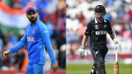 IND 77/1 in 7 Overs (Target 204) | India vs New Zealand Live Score 1st T20I 2020: KL Rahul, Virat Kohli Look to Take Visitors Forward