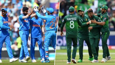 India vs Pakistan ICC CWC 2019 at Manchester: How Rain and Weather Can Affect Today's Match; From DLS Method to Ticket Refund, Everything Explained