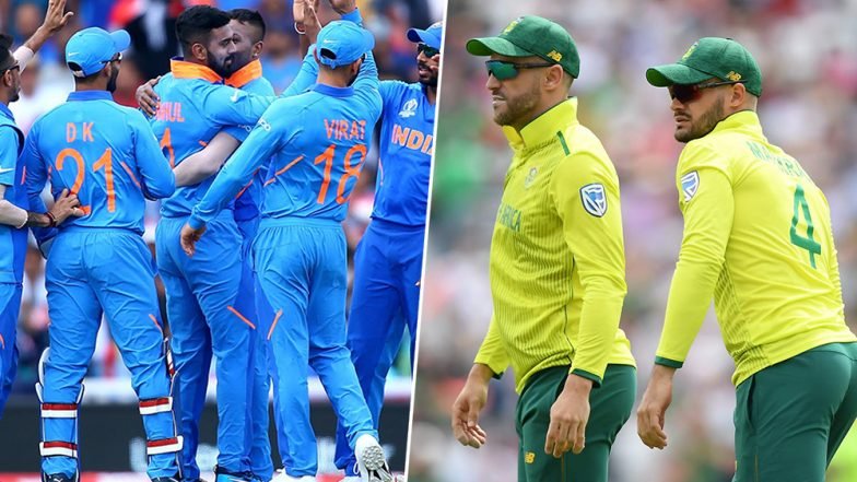 India vs South Africa ICC Cricket World Cup 2019 Weather Report: Check Out the Rain Forecast and Pitch Report of Hampshire Bowl in Southampton