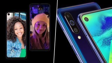 Motorola One Vision Vs Samsung Galaxy M40: India Prices, Features, Specifications - Comparison