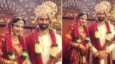 Charu Asopa and Rajeev Sen Tie the Knot: First Pictures from Sushmita Sen's Brother's Goa Wedding are Here!
