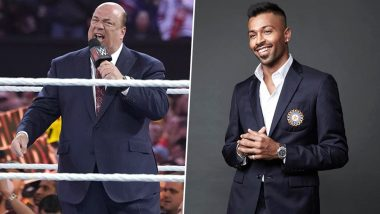 Hardik Pandya Not Man Enough to Step Into the Ring With Brock Lesnar, Says WWE Manager Paul Heyman