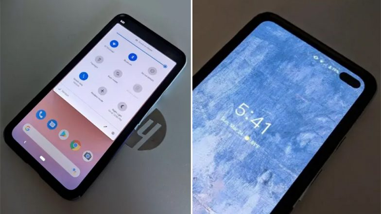 Google Pixel 4 XL New Images Leaked Online; Reveals Punch Hole Display