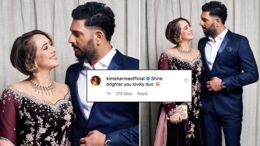 Yuvraj Singh's Ex-Girlfriend Kim Sharma Leaves a Lovely Comment on His Wife Hazel Keech's Instagram Post