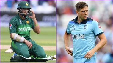 Chris Woakes Takes a Brilliant Diving Catch to Dismiss Imam-ul-Haq in PAK vs ENG ICC Cricket World Cup 2019 Match (Watch Video)