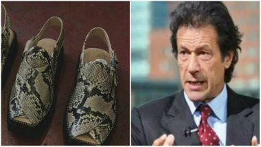 Illegal Snakeskin Shoes For Pakistan PM Imran Khan Seized by Wildlife Officials