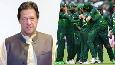 Imran Khan Congratulates Pakistan Team After Their Victory Over New Zealand in ICC Cricket World Cup 2019