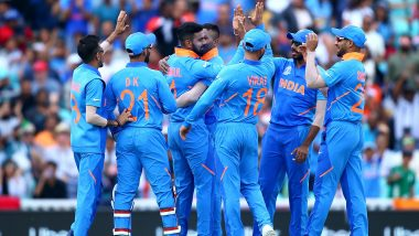 IND vs AFG, ICC CWC 2019 Toss Report & Playing 11: Virat Kohli Wins the Toss, Elects to Bat First; Mohammad Shami Replaces Bhuvneshwar Kumar