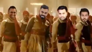 Fan Post 'Super Funny' Video of Virat Kohli and Co. Dancing to Malhari Song; Gets Harbhajan Singh's Approval (Watch Video)
