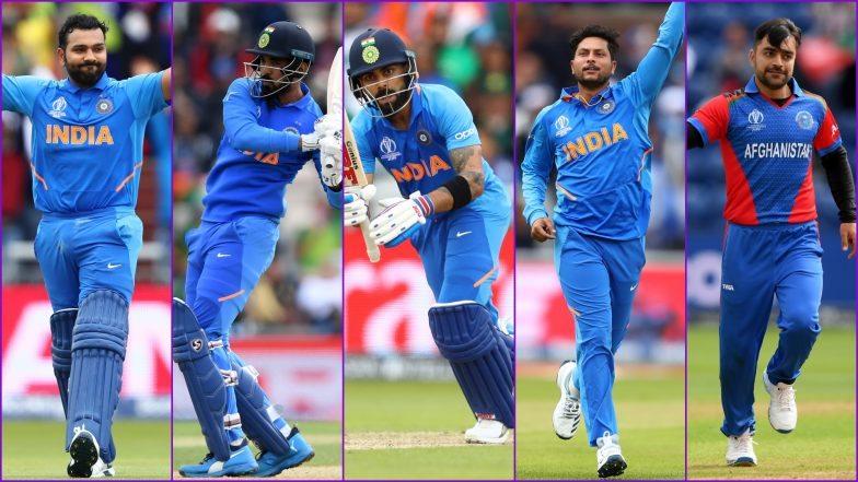IND vs AFG, ICC Cricket World Cup 2019 Match 28, Key Players: Rohit Sharma, Kuldeep Yadav, KL ...