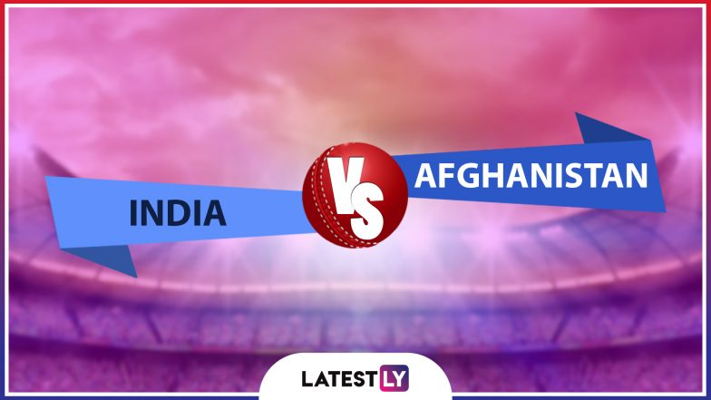 Live Cricket Streaming of India vs Afghanistan ODI Match on DD