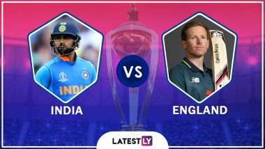 India vs England Highlights of ICC World Cup 2019 Match: ENG Beat IND, Stay in Contention for Semi-Finals