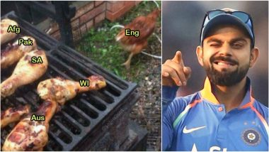 Funny World Cup 2019 Memes Go Viral Ahead of India vs England! Fans Trend #INDvENG as Virat Kohli's Team Eyes Knocking Hosts England Out of Semis Race