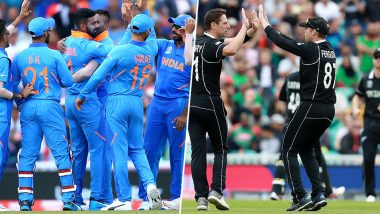 India vs New Zealand Dream11 Team Predictions: Best Picks for All-Rounders, Batsmen, Bowlers & Wicket-Keepers for IND vs NZ in ICC Cricket World Cup 2019 Match 18