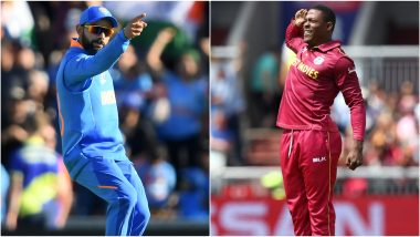 IND vs WI, ICC Cricket World Cup 2019: Virat Kohli vs Sheldon Cottrell and Other Exciting Mini Battles to Watch Out for at Old Trafford Cricket Ground in Manchester