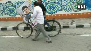 'Salute Akash Vijayvargiya Ji' Posters in Support of Bat-Wielding BJP MLA Removed by Indore Municipal Corporation
