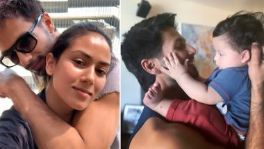 Shahid Kapoor Thinks Son Zain's Features Are More Like His Mother, Mira Rajput