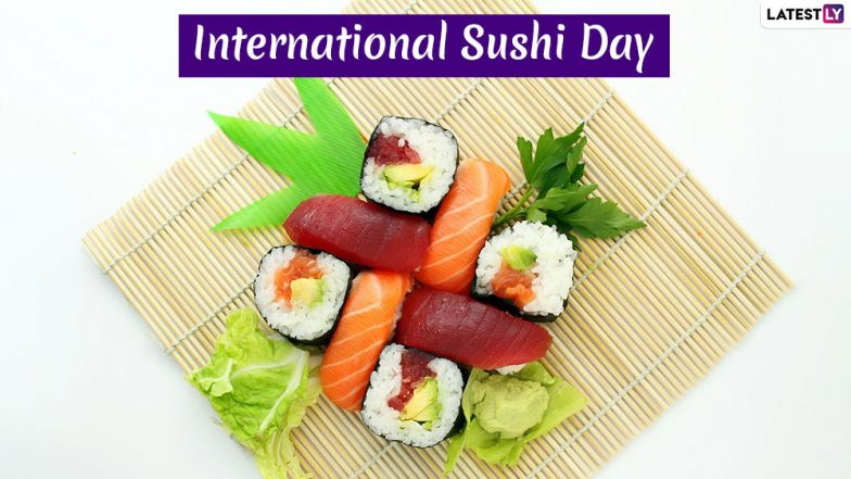 International Sushi Day 2019: History and Significance of Day Dedicated to the Traditional Japanese Delicacy