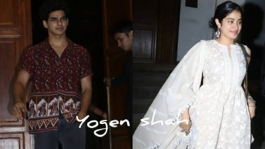 Ishaan Khatter and Janhvi Kapoor Leave Separately Post Their Dinner Date, Is Paparazzi the Reason? Watch Videos