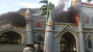 Jabalpur: Fire breaks Out At High Court, Fire Tenders Reach Spot