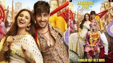 Jabariya Jodi Box Office Collection Day 4: Parineeti Chopra and Sidharth Malhotra's Film Performs Fairly Decent on Monday But Will End Week 1 on a Low Note