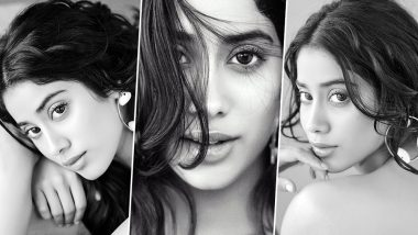 Janhvi Kapoor's Latest Series of Monochrome Pictures Are So Dreamy That You Will 'Heart' Them Instantly!
