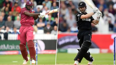 WI vs NZ, ICC CWC 2019 Toss Report & Playing 11: West Indies Wins Toss, Elects To Field; Carlos Brathwaite Replaces injured Andre Russell