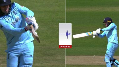 India vs England CWC 2019: Dhoni Review System Fails as Jason Roy Survives After India Decide Against Using DRS, Fans Question Poor Umpiring As Well