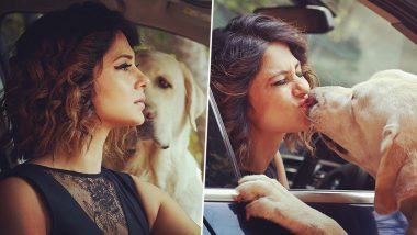 Jennifer Winget's Latest Photoshoot Involves Her Dog and The Adorable Pics Have Legit Made Our Day!
