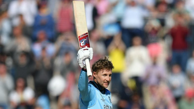 Joe Root Hits Hundred Against West Indies, Brings Up Century No 2 in ICC CWC 2019 During ENG vs WI Match in Southampton