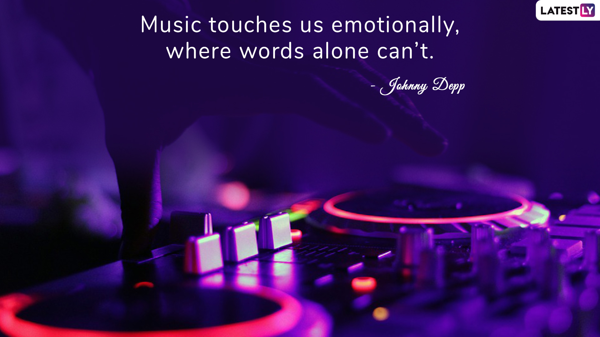 Johnny Depp's quote on music to celebrate World Music Day 2019 (Photo Credits: File Image)