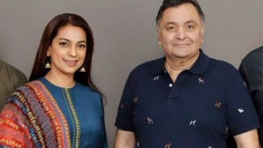 Rishi Kapoor To Work With Former Co-Star Juhi Chawla After Returning To India?