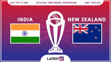 India vs New Zealand, ICC Cricket World Cup 2019 Match Preview: Amid Rain Threat in Nottingham, IND Aim to Avenge Warm-Up Loss Against NZ