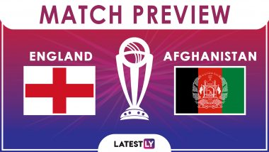 England vs Afghanistan, ICC Cricket World Cup 2019 Match 24 Video Preview