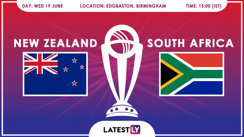 New Zealand vs South Africa, ICC Cricket World Cup 2019 Match Preview: SA Aim to Keep Semis Hopes Alive Against Kiwis