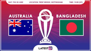Australia vs Bangladesh, ICC Cricket World Cup 2019 Match Preview: Confident BAN Face In-Form AUS at Trent Bridge