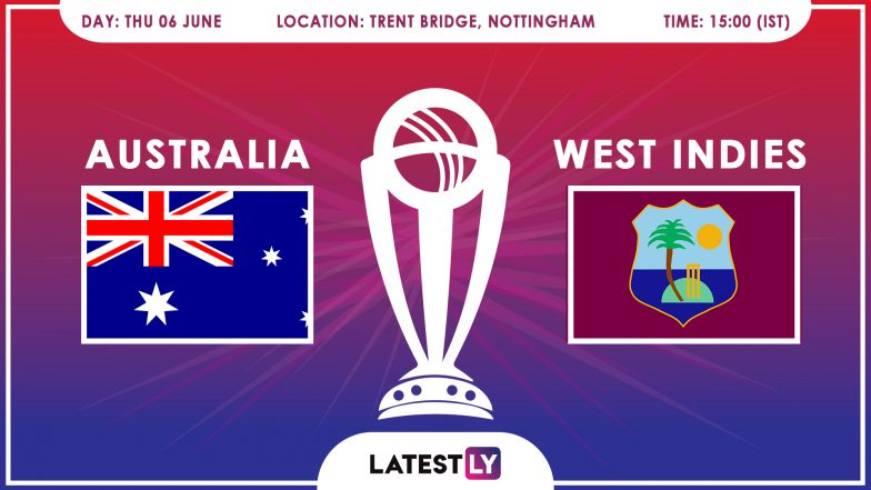 Australia vs West Indies, ICC Cricket World Cup 2019 Match Preview: Mighty Aussies to Face Stern Windies Test