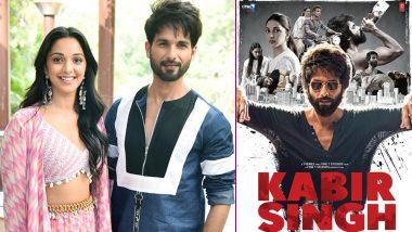 Kabir Singh Box Office Collection: Shahid Kapoor and Kiara Advani's Film Is Still Running in Cinema Halls, Rakes in Rs 278.24 Crore