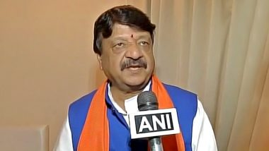 BJP Leader Kailash Vijayvargiya Suspects Nationality of Workers Over Eating Habits