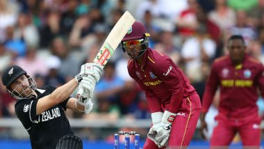 West Indies vs New Zealand Stat Highlights, ICC World Cup 2019 Match: Kane Williamson's 148 And Trent Boult's 4-30 Hands NZ 5-Run Win Over WI
