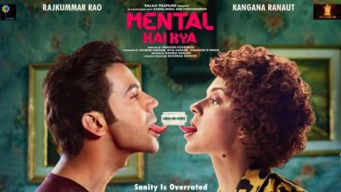 There Will Be A Change In The Title Of Mental Hai Kya, Confirms Kangana Ranaut