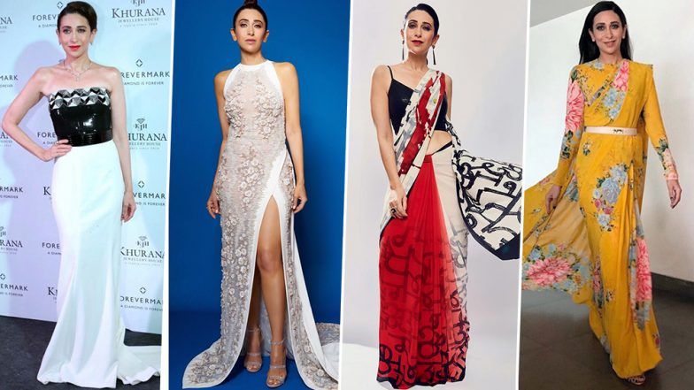 Karisma Kapoor Birthday Special: From Being a Style Icon of the 90s to a Present Day Fashionista, She's the Classic Example of 'Once a Diva, Always a Diva'