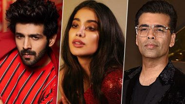 Dostana 2: Kartik Aaryan-Janhvi Kapoor's Film to Be Helmed by Debutant Collin D'Cunha, Dharma Productions to Introduce a New Face